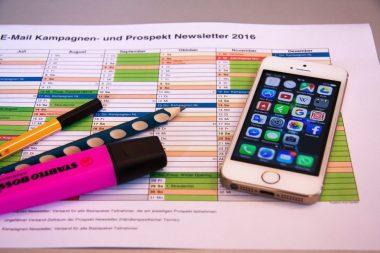 Comunicação eficiente demanda organização