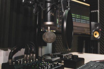 Produção de podcasts