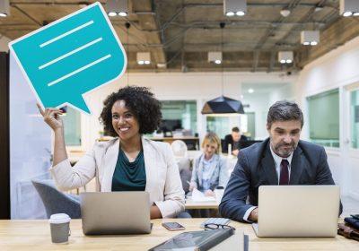 Engajamento para inovação com comunicação interna