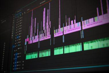 Edição de conteúdo audiovisual